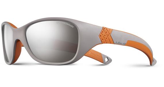 Julbo Kids 4-6Y Solan Spectron 4 Sunglasses Gray/Orange-Gray Flash Silver